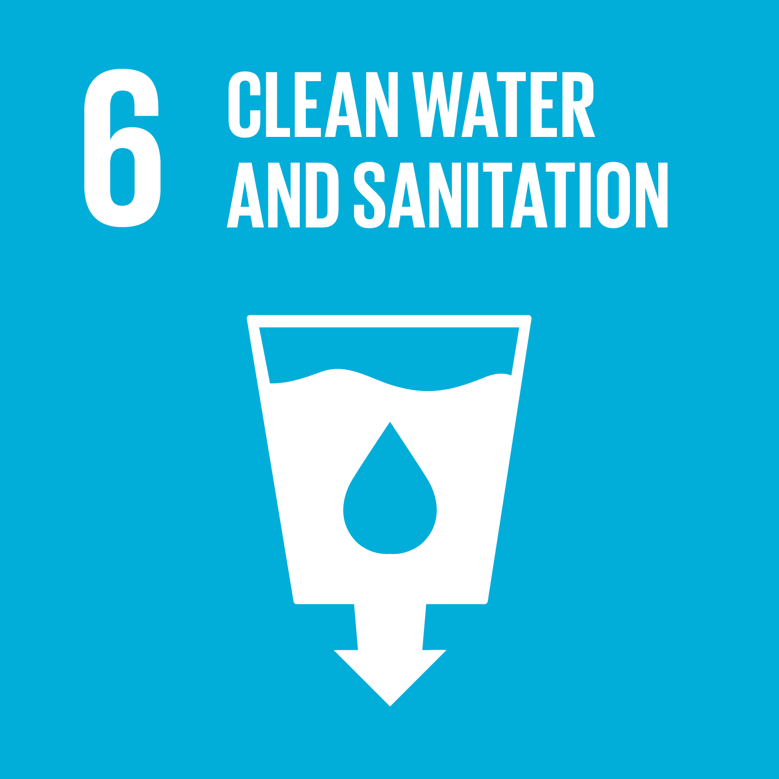 Sustainable Development Goal SDG 06 Water Sanitation