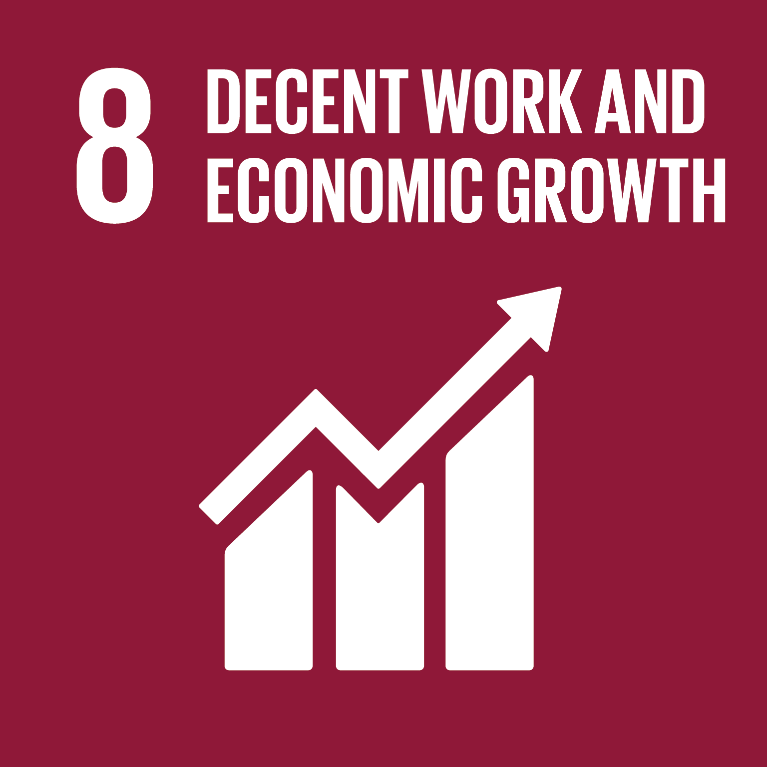 Sustainable Development Goal SDG 08 Work Economic Growth