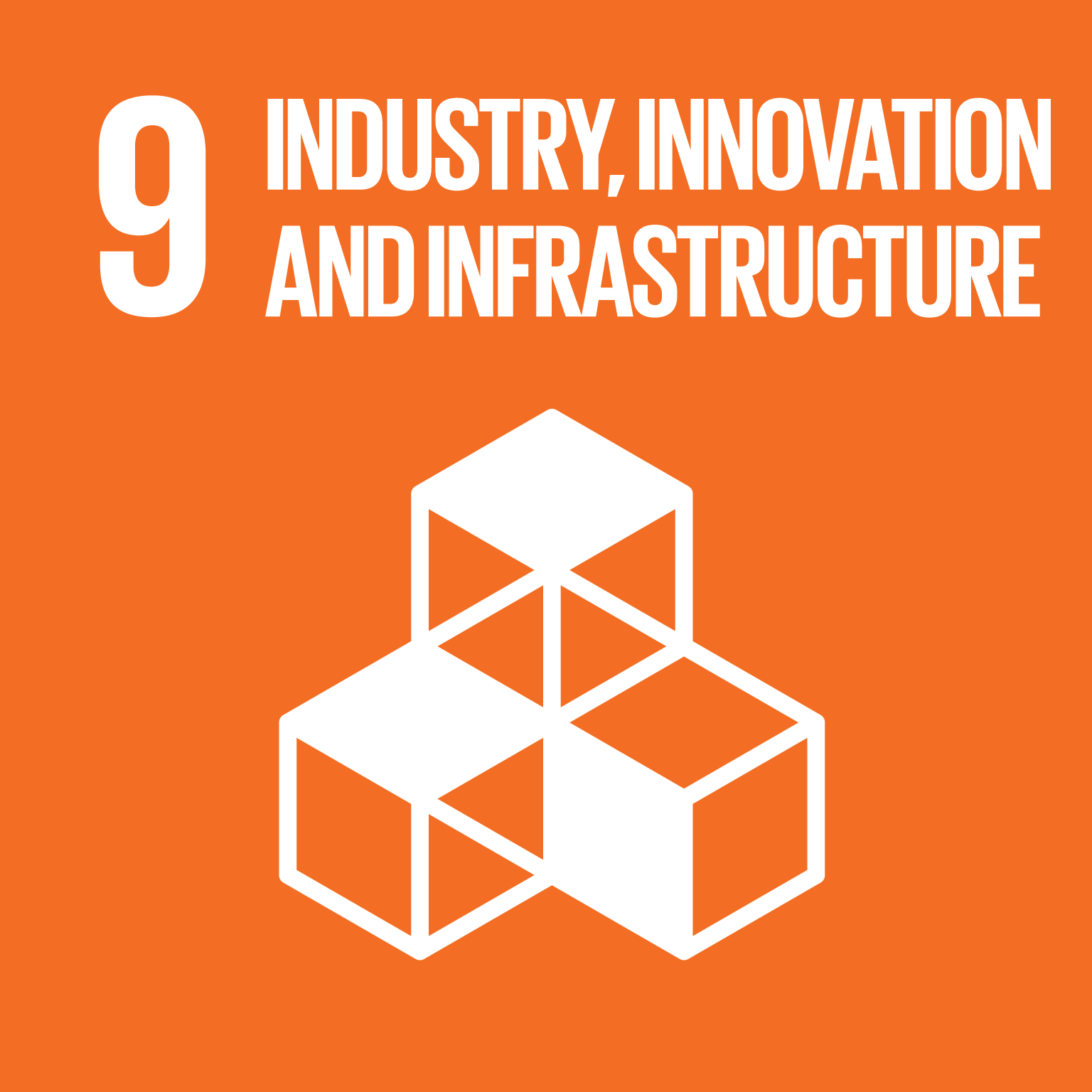 Sustainable Development Goal SDG 09 Industry Innovation Infastructure