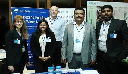 H.B. Fuller employees at the BCH Symposium in India.