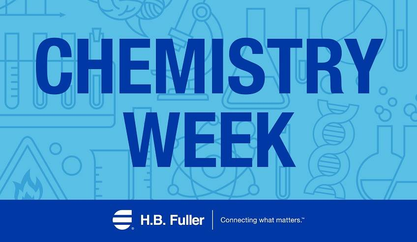 Celebrating chemistry week for H.B. Fuller.
