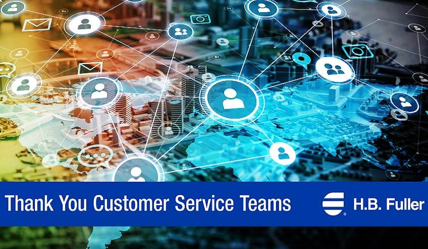 H.B. Fuller global customer service