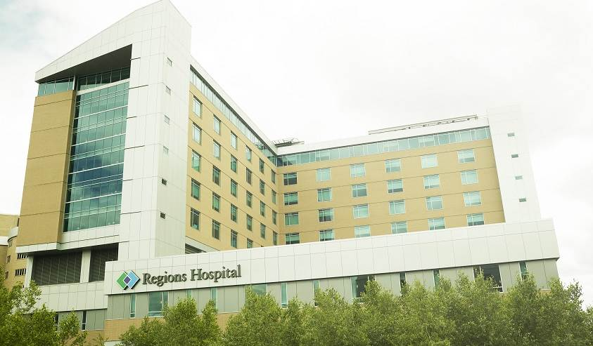 Regions hospital in Minnesota.