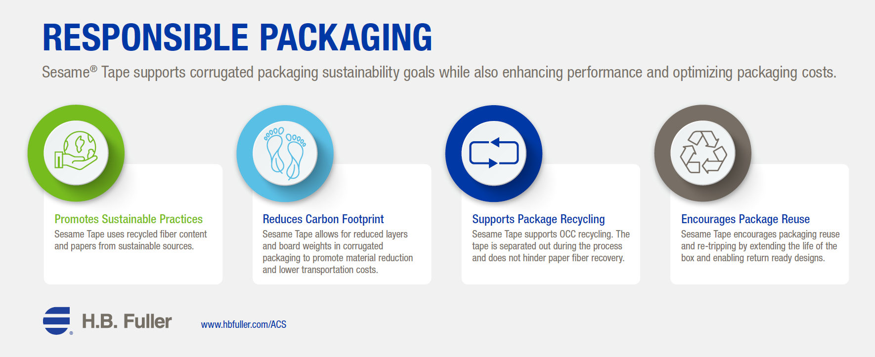 ACS Sustainability Infographic.