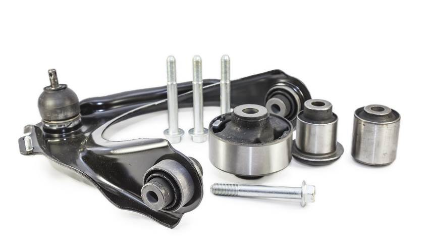 Automotive parts that require rubber to metal bonding adhesive and sealant.