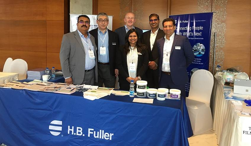 The H.B.Fuller team of hygiene experts at OUTLOOK India 2019.