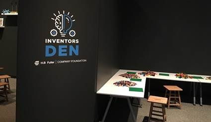 Inventors Den at the Science Museum of Minnesota sponsored by H.B. Fuller.