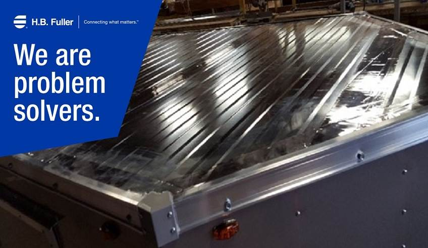 Eternabond tape helps prevent cargo trailer roof leaks before they start.