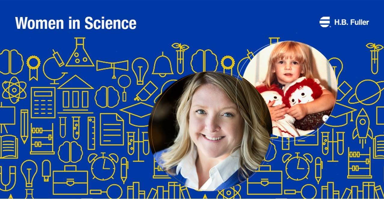 H.B. Fuller is celebrating women in science with Kirstin Hedin, Global Product Management and Marketing, Hygiene, Health, and Consumable Adhesives.