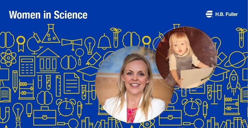 H.B. Fuller's Kristy Beckman women in science feature.