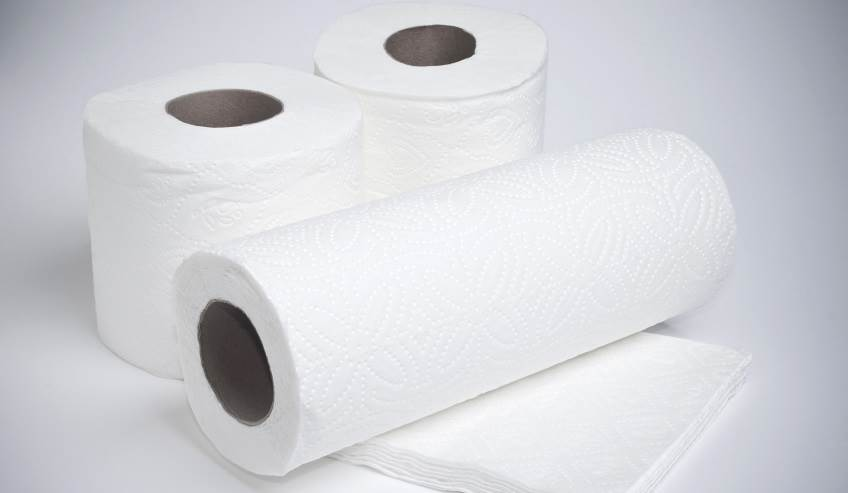 Bath tissue and paper towel roll