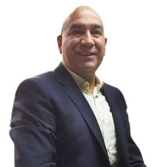 Head shot of Cesar Piña Martín Del Campo, Geographic Sales Manager, H.B. Fuller Adhesive Coated Solutions