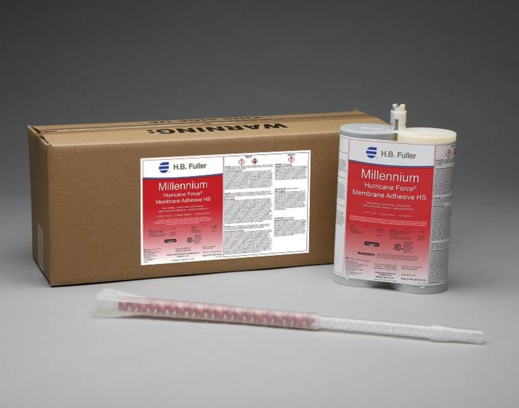 Millennium Hurircane Force Membrane Adhesive from H.B. Fuller.