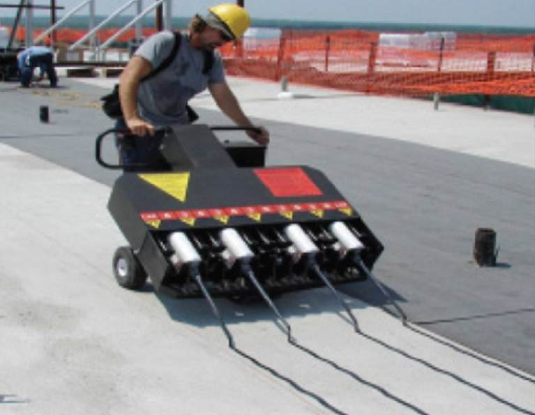 Modified Bitumen Roofing Application