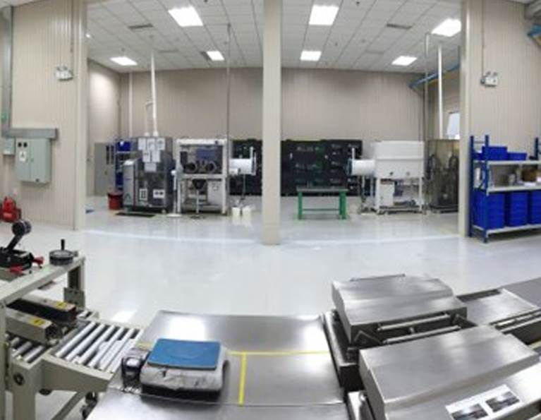 Inside H.B. Fuller's Yantai facility where adhesives for the electronics market are produced.