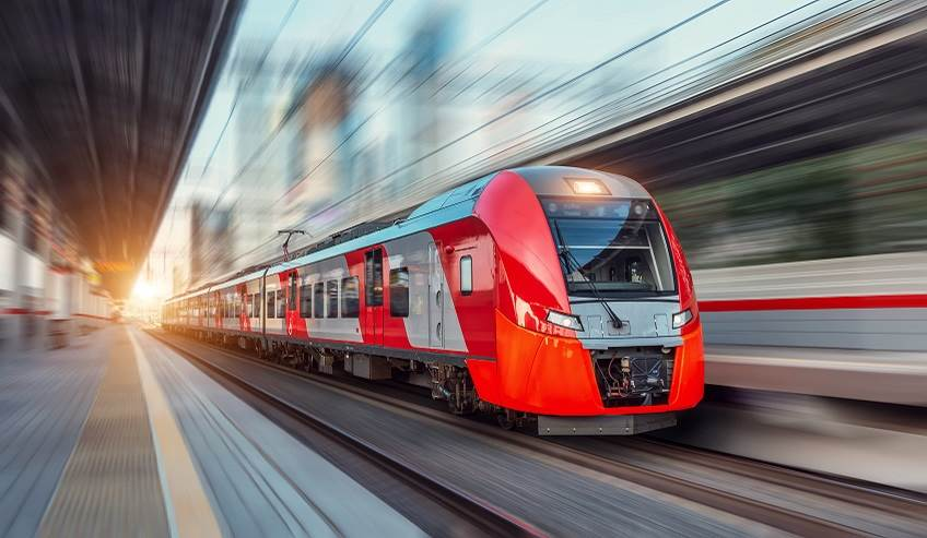 Structural bonding, fast train, for the transportation industry