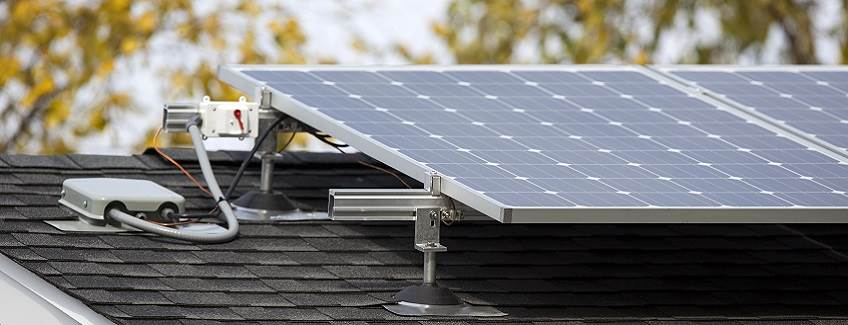 Rooftop Solar Panels Using Ingot Bonding Adhesives