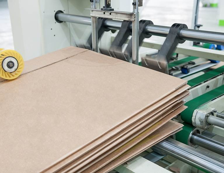 Folding cartons being manufactured with adhesives from H.B. Fuller.