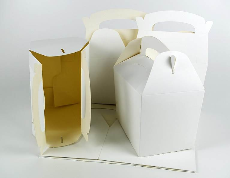 Take out food containers made with industrial adhesives for folding cartons from H.B. Fuller.