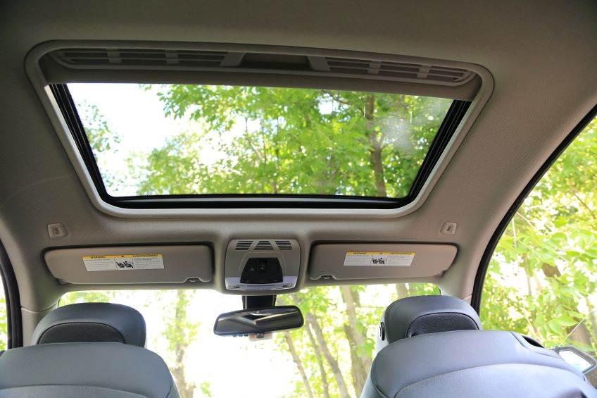Automobile sunroof
