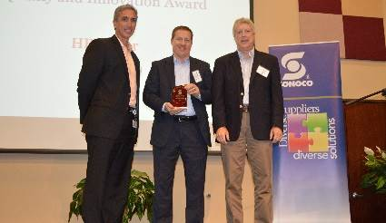 H.B. Fuller receives Sonoco's 2017 Quality and Innovation Award