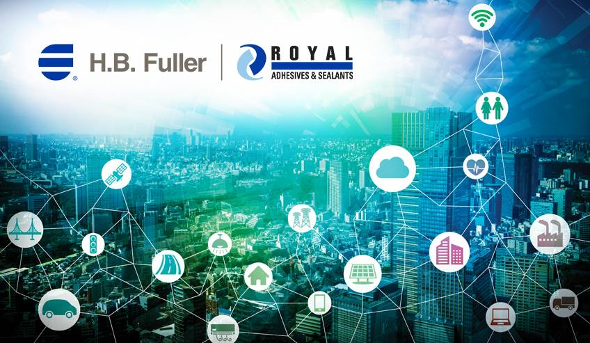 H.B. Fuller welcomes Royal Adhesives & Sealants to its global network